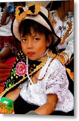 Cuenca Kids 497 Metal Print