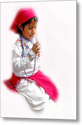 Cuenca Kids 507 Metal Print