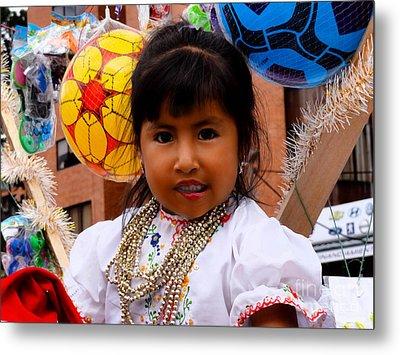 Cuenca Kids 545 Metal Print