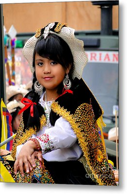 Cuenca Kids 583 Metal Print