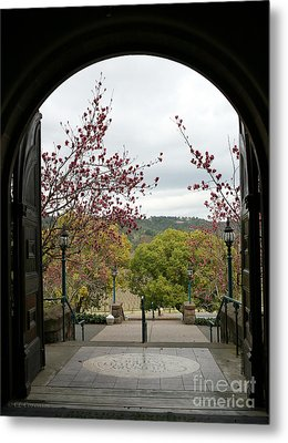 Culinary Institute Of America At Greystone Metal Print