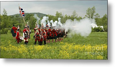 Metal Print featuring the photograph Culloden Loyalists by Carol Lynn Coronios