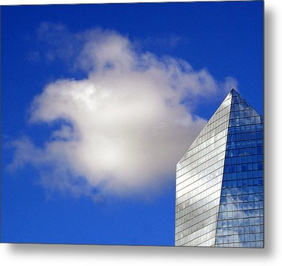 Metal Print featuring the photograph Cumulus And Cira by Lisa Phillips