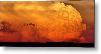 Cumulus Congestus Sunset Metal Print