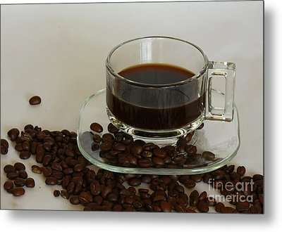 Cup Of Java Metal Print by Inspired Nature Photography Fine Art Photography