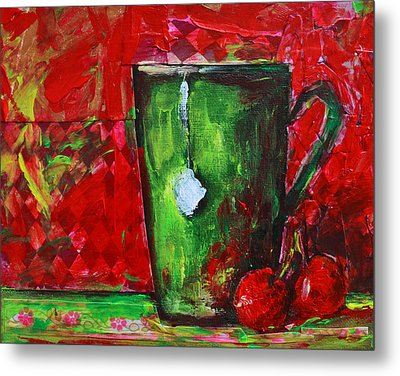 Cup Of Tea No. 1 Metal Print