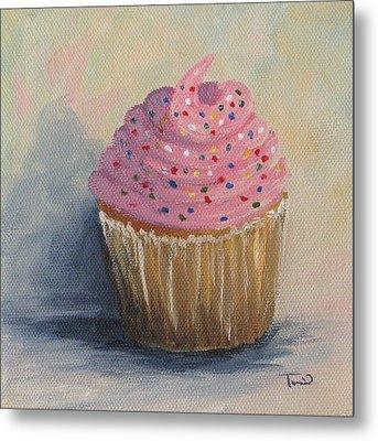Cupcake 004 Metal Print by Torrie Smiley