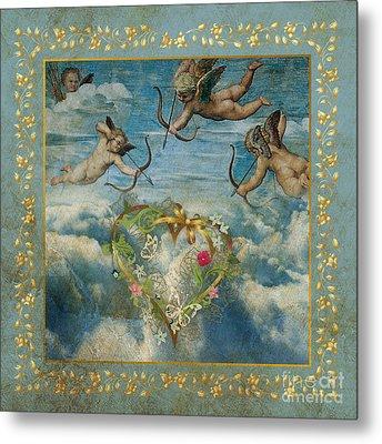 Cupid Metal Print by Jolanta Meskauskiene