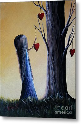Cupid's Tree By Shawna Erback Metal Print by Shawna Erback