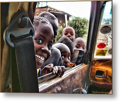 Metal Print featuring the photograph Curiosity by Wallaroo Images