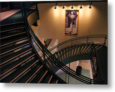 Curly's Stairway Metal Print by Bill Pevlor