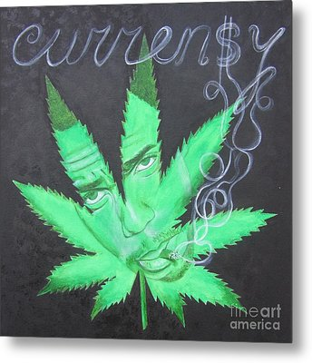 Currensy Metal Print