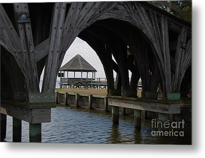 Metal Print featuring the digital art Currituck Inlet by Kelvin Booker