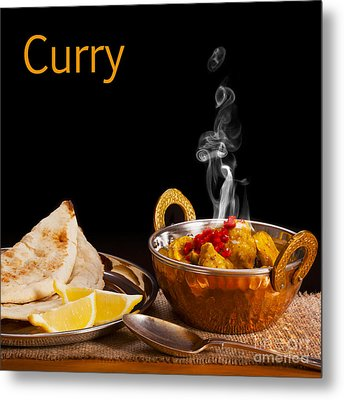 Curry Concept Metal Print by Colin and Linda McKie