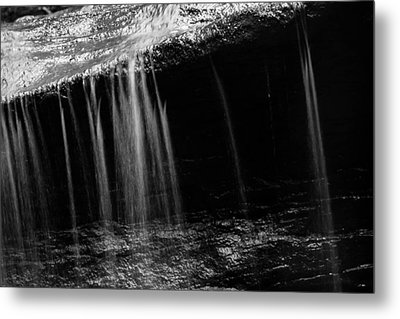 Metal Print featuring the photograph Curtain Of Water by Haren Images- Kriss Haren