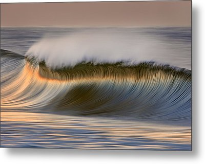 Metal Print featuring the photograph Curved Crest C6j9295 by David Orias
