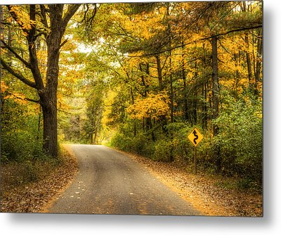 Curves Ahead Metal Print by Scott Norris