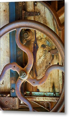 Curves And Lines Metal Print by Stephen Anderson