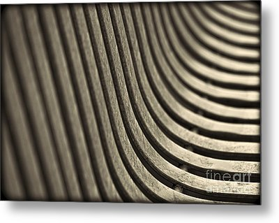 Metal Print featuring the photograph Curves I. by Clare Bambers
