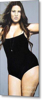 Curvy Beauties - Tara Lynn Metal Print by Malinda  Prudhomme