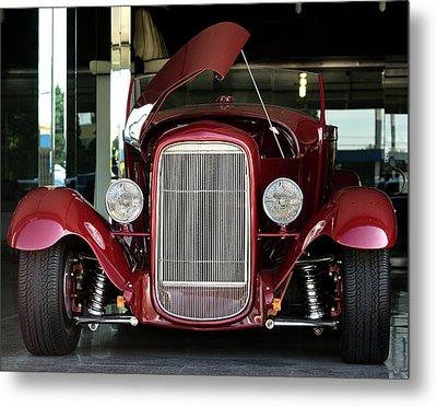 Custom 1927 Model T Dream Machine Metal Print by Lorenzo Williams
