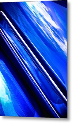 Custom Blue Paint Metal Print by Phil 'motography' Clark