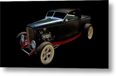 Classic Car Metal Print featuring the photograph Custom Hot Rod by Aaron Berg
