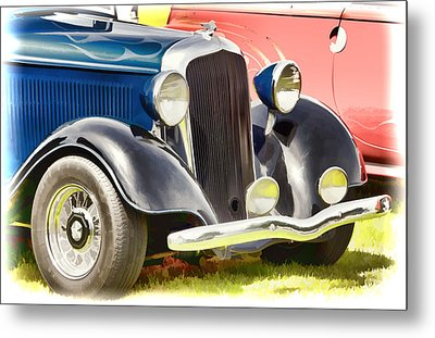 Custom Hot Rod Metal Print
