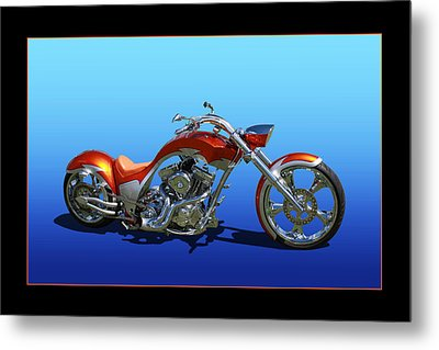 Metal Print featuring the photograph Customized Perfection by Keith Hawley
