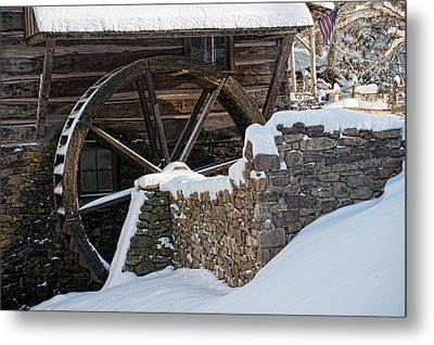 Cutalossa Water Wheel Metal Print
