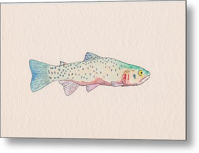 Cutthroat Trout Metal Print by Stephen Moore