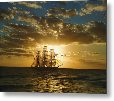 Cutty Sark Metal Print by Dale Jackson