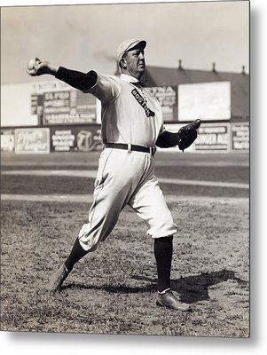 Cy Young - American League Pitching Superstar - 1908 Metal Print