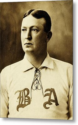 Cy Young Metal Print by Benjamin Yeager