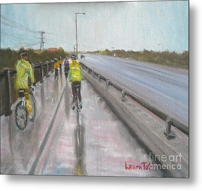 Cycle Club Metal Print