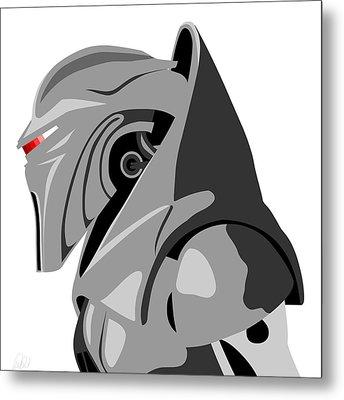 Cylon Metal Print by Paul Dunkel