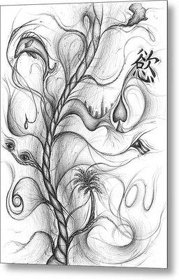 Cynthia Centipeda Metal Print by Michael Morgan