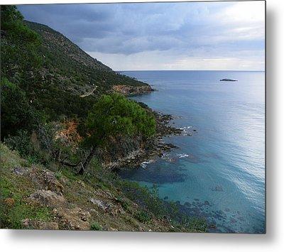 Cyprus Coastline Metal Print