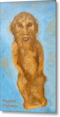 Cyprus Lion-like God Metal Print by Augusta Stylianou