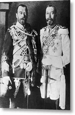 Czar Nicholas And King George V Metal Print