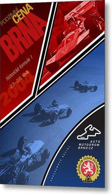 Czech Republic Historic Grand Prix Metal Print
