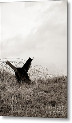D Day Beach Metal Print