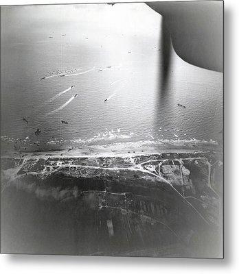 D-day Landings Metal Print
