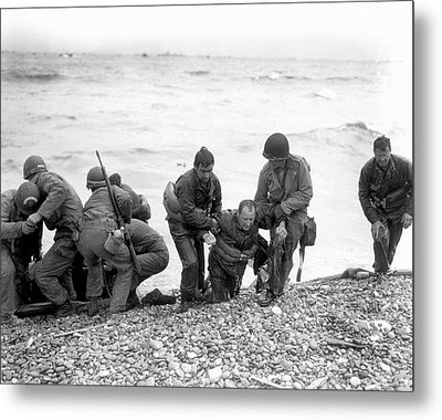 D-day Landings Metal Print by Us Army