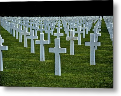 D-day's Price Metal Print by Eric Tressler