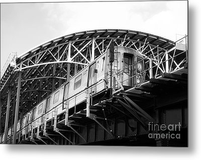 D-train Metal Print by John Rizzuto
