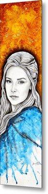 Daenerys Targaryen Metal Print by Anastasis  Anastasi