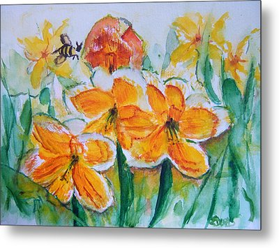 Daffies Metal Print