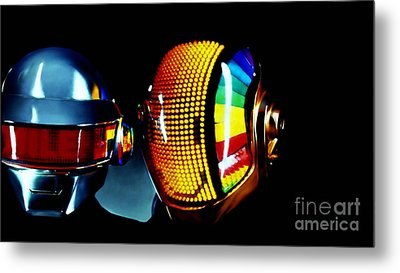 Daft Punk  Metal Print by Marvin Blaine