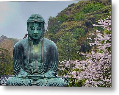 Daibutsu Buddha Metal Print by Alan Toepfer